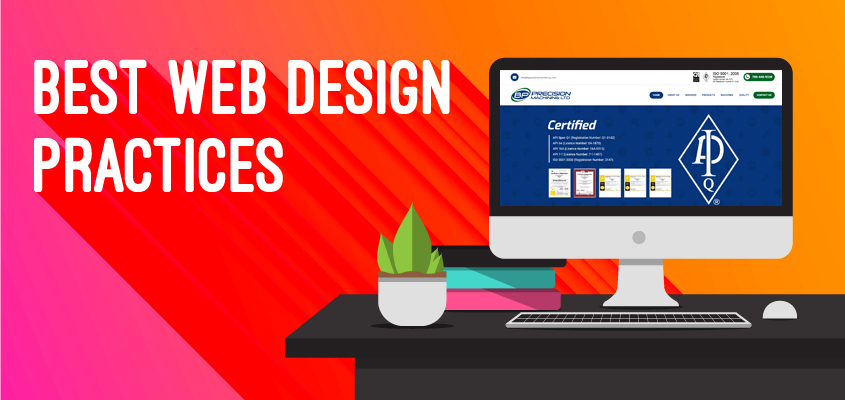 5 Web Design Practices To Improve Performance of A Business Website
