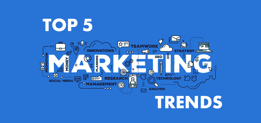 Top 5 Marketing Trends Your Brand Should Be Aware Of