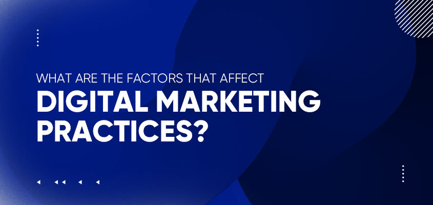 What Are The Factors That Affect Digital Marketing Practices?