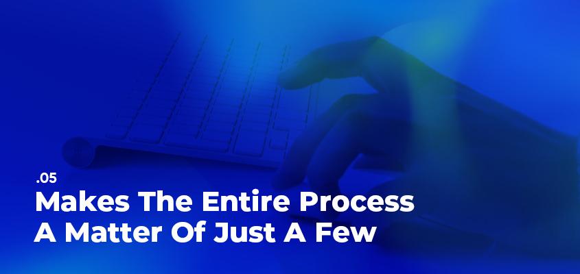 Makes The Entire Process A Matter Of Just A Few Clicks