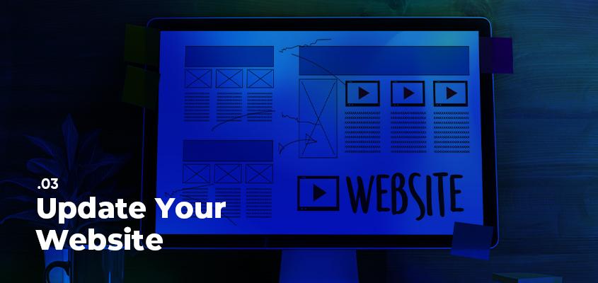 Update Your Website